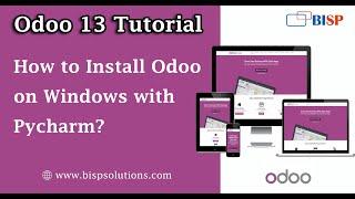 Odoo 13 Windows Installation | Odoo Pycharm Configuration | Odoo Installati