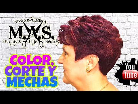 Color, Corte de Cabello y Mechas, para Mujeres de 50 Años.
