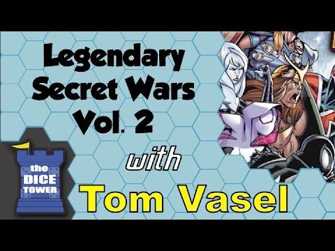 Dice Tower Reviews: Legendary: Secret Wars - Volume 2