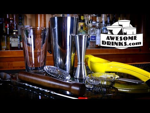 Essential Bar Tools For Beginner Cocktail Enthusiasts   Lesson 01