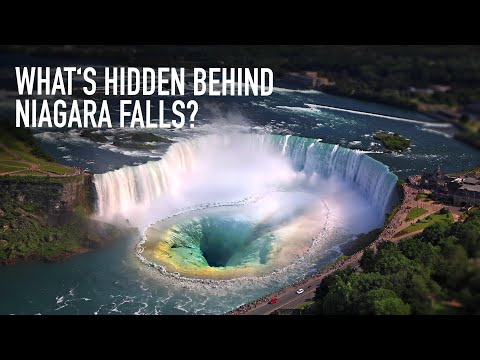 What's Hidden Behind Niagara Falls?