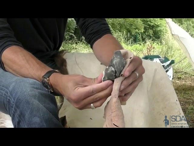La taille de lames et de haches (SDAO)