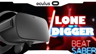 ► BEAT SABER • Lone Digger • Expert • Oculus Rift e Touch