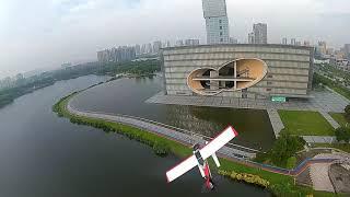 Arrow Husky RC plane FPV chase FT Sea Duck daily flight