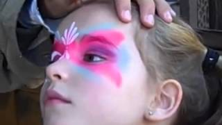 Disney Face Paint   From Youtube By Offliberty