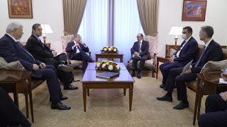 Министр иностранных дел Ара Айвазян принял сопредседателей Минской группы ОБСЕ