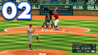 MLB 21 Road to the Show - Part 2 - STARTING PITCHER!