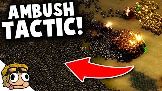 AMBUSH TACTIC vs FINAL WAVE! | They Are Billions Beta 0.8 Update Gameplay