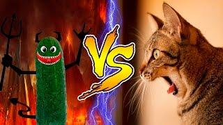 Смешные Кошки боятся огурцов - Часть 3 - Кошки Против Огурцов - Кошки в Шоке - Смешные Кошки 2017