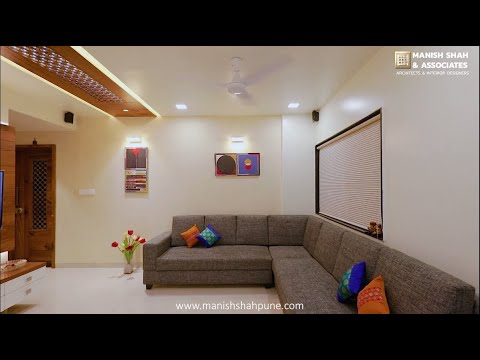 2 BHK compact flat Interior Designing for Mr. Anuj Gujar in Pune | Warje | Manish Shah & Associates