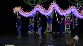 Lion and Dragon Dance at Wichita Asian Festival 2015
