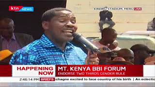 Munya cautions cartels and Governors against unfair taxation on Miraa  | MT. KENYA BBI FORUM