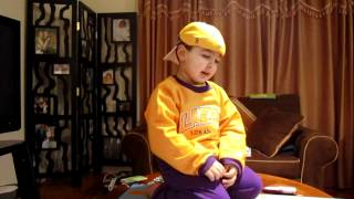 smart kid and a lakers fan too