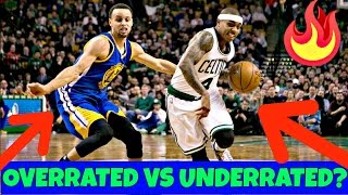 STEPH CURRY VS ISAIAH THOMAS!! Overrated vs Underrated?!