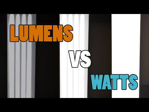 Lumens Or Watts? – THE BRIGHTNESS OF LIGHTS