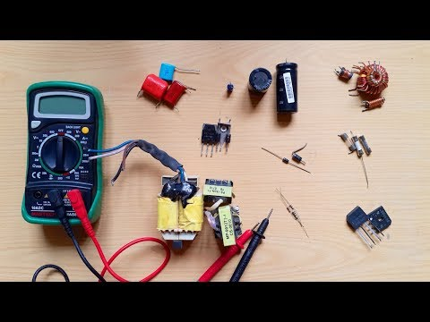 How To Test Electronic Componets || Testing Electronic Components With DMM