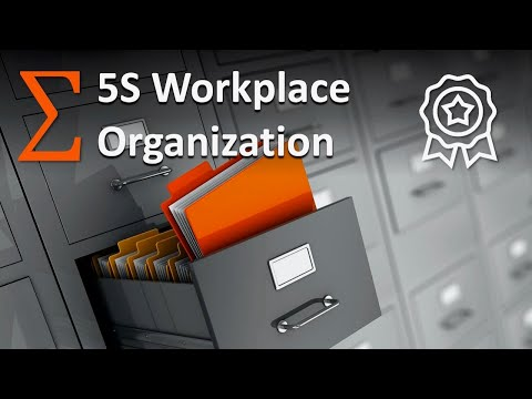 5S in Factory & Office: How to Make Your Workplace Excellent
