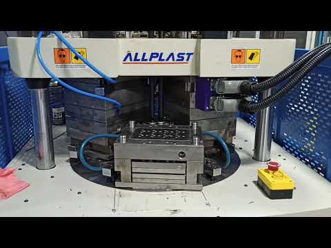 Double Color Rotary Injection Molding Machine