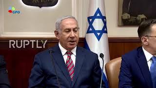 Israel: Netanyahu reiterates objection to Iranian presence in Syria