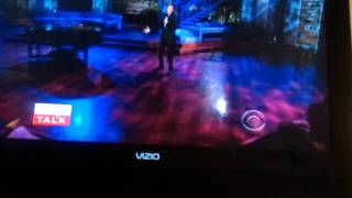 Barry Manilow on The talk Bring on Tomorrow.mp4