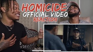 Logic   Homicide Ft. Eminem | HILARIOUS!! (REACTION)