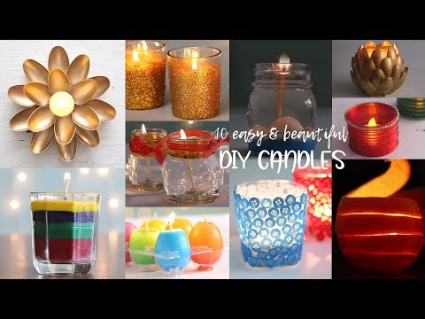 10 Easy DIY Tips to Make Beautiful Candles
