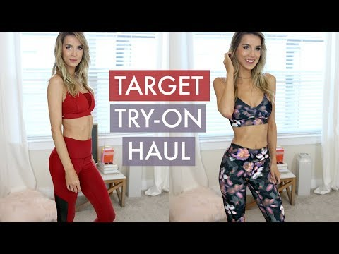 TARGET TRY ON HAUL | AFFORDABLE WORKOUT CLOTHES