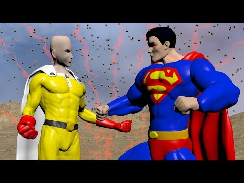 One Punch man Vs Superman | FIGHT FACTOR