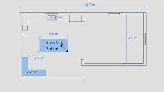 2D drawing layout style in Blender using measureit Part 1