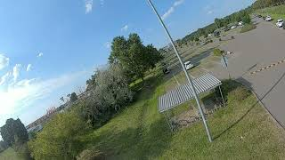 Fpv Freestyle with 40 degrees of camera tilt