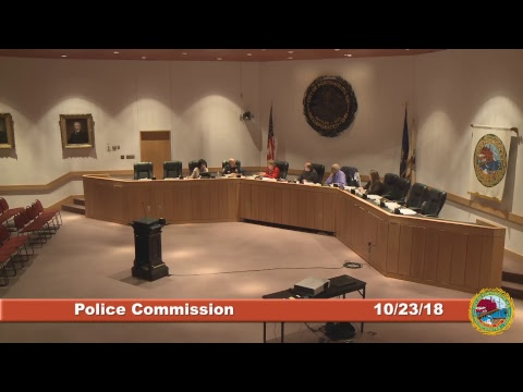 Police Commission 10.23.2018