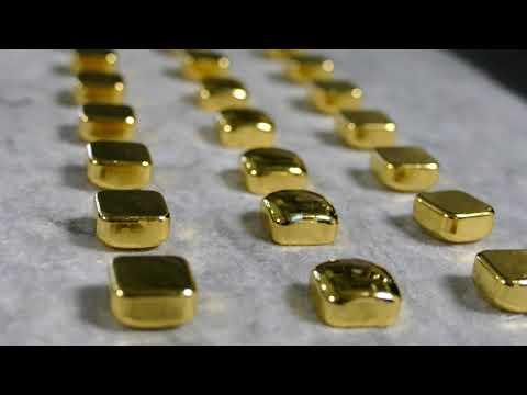 Produktoin von Goldbarren bei C.Hafner