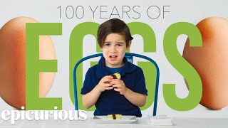 Kids Try 100 Years of Eggs