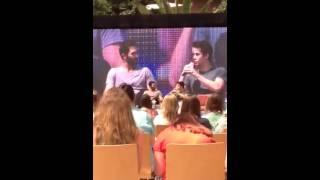Panel Tyler/Dylan (leur 1ere rencontre)