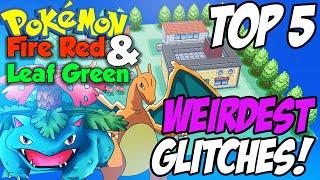 Top 5: Weirdest Glitches   Pokemon Fire Red & Leaf Green! (Jason Plays Pokemon)