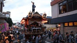 「佐倉の秋祭り」で焼失屋台も復活