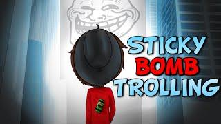 STICKY BOMB TROLLING - GTA 5 PC Online Funny Moments