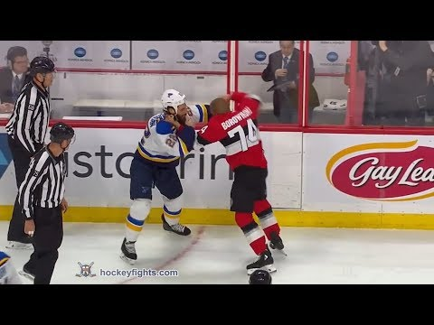Mark Borowiecki vs. Chris Thorburn