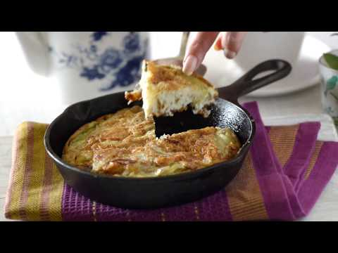 Spanish Omelette Recipe –  Breakfast or Snack Recipe