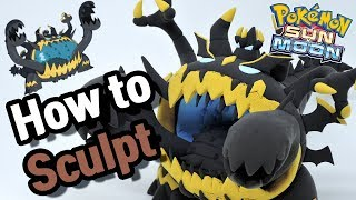 Guzzlord  - (Pokémon) - Sculpting Guzzlord Ultra Beast in Clay