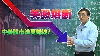 美股一周两次熔断!中美股民谁更赚钱?股票指数是什么?