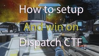 Halo 4 :: How to setup and control Dispatch Flag :: Commentary