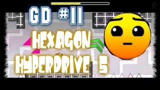 Geometry Dash #11_Hexagon Hyperdrive 5 by Mitchell - El nivel más electrizante!