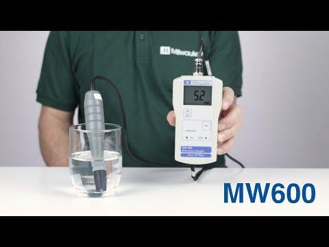 MW600 Medidor de Oxígeno disuelto portátil