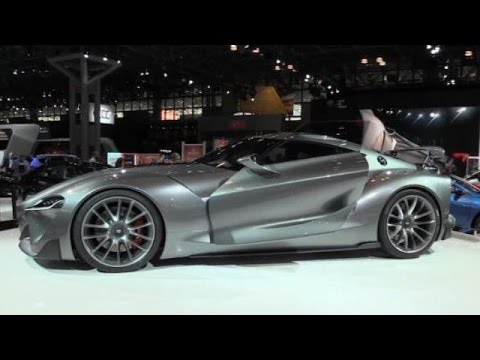 Top 5 Concept Cars at the 2015 New York Auto Show