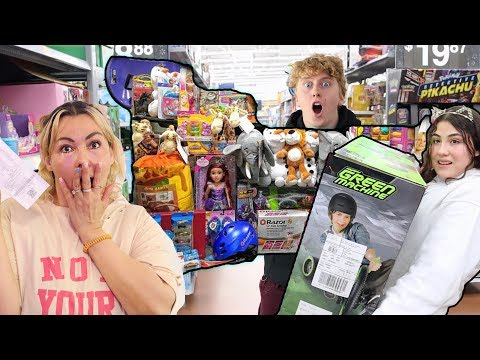 I'LL BUY WHAT EVER YOU CAN CARRY CHALLENGE!
