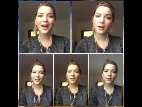 """Круто! девушка записала видео с Рождественской песней акапелла """"щедрик"""" Carol of the Bells"""
