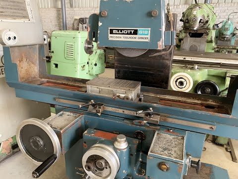 Precision Toolroom Surface Grinder