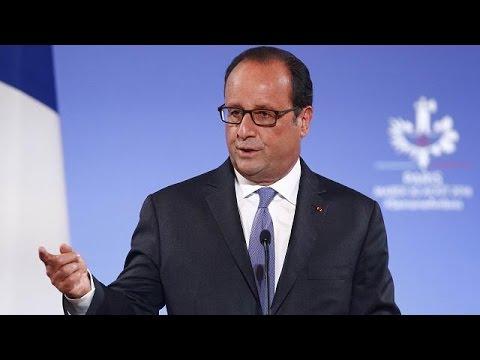 Γαλλία: Προβληματισμένος ο Ολάντ για τις κινήσεις της Τουρκίας στη Συρία