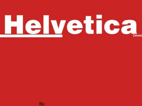 I Love Helvetica | Kinetic Typography